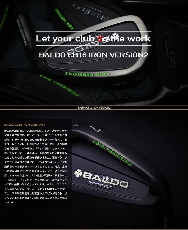 BALDO (バルド) CB16 VERSION2 アイアン