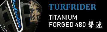 Muziik (ムジーク) TurfRider TITANIUM FORGED 480 撃速 ドライバー