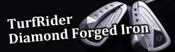 Muziik (ムジーク) TurfRider Diamond Forged Iron