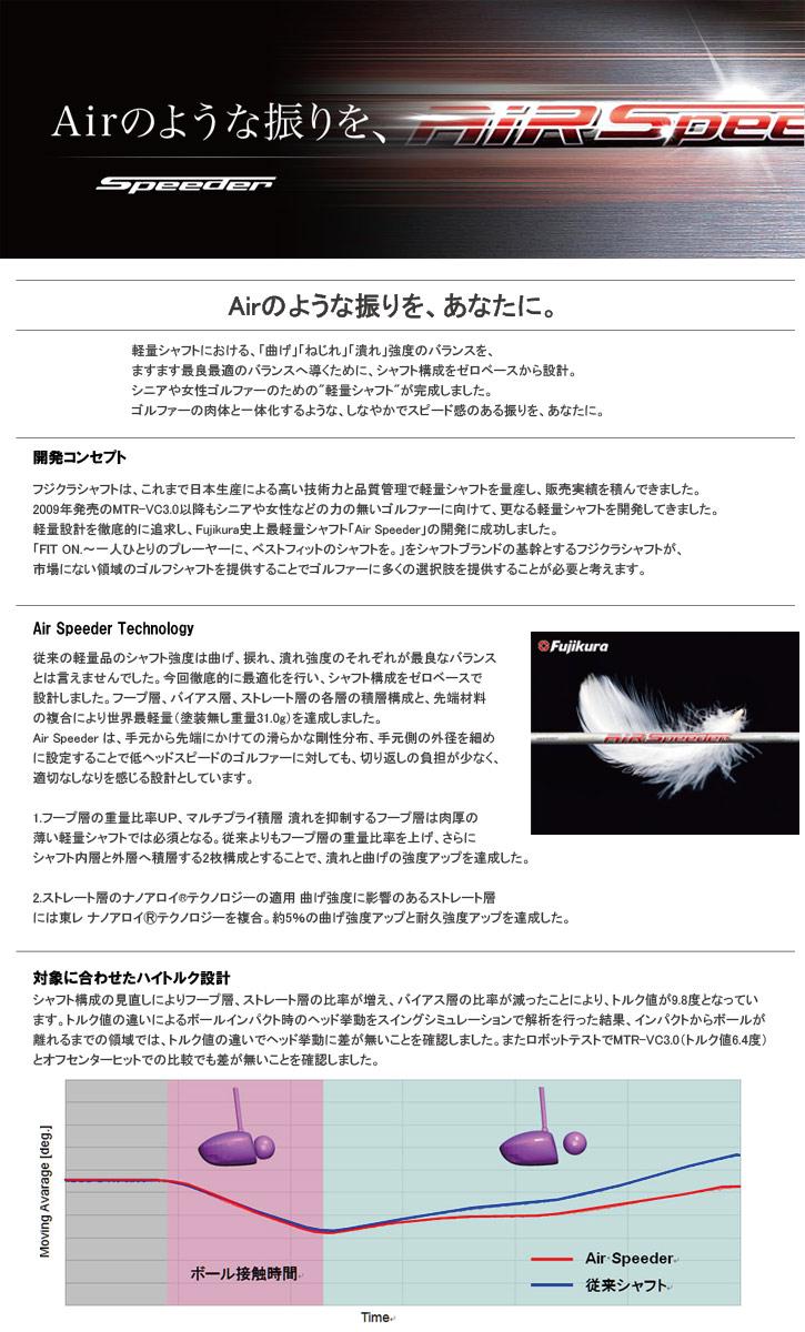フジクラ Air Speeder UT (エアースピーダー UT)/Air Speeder Plus UT (エアースピーダープラス UT)
