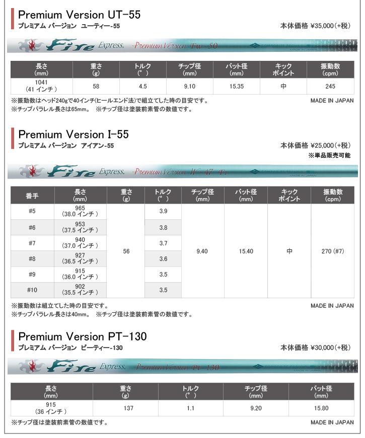 コンポジットテクノ Fire Express (ファイアーエクスプレス) Premium Version UT-55