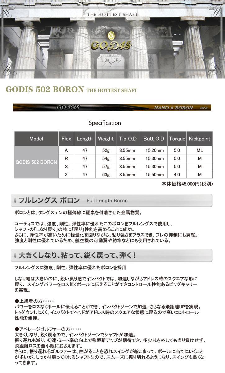 ワークス GODIS (ゴーディス) 502 BORON