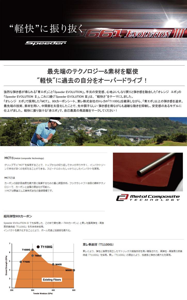 フジクラ Speeder EVOLUTION 3 (スピーダーエボリューション 3)