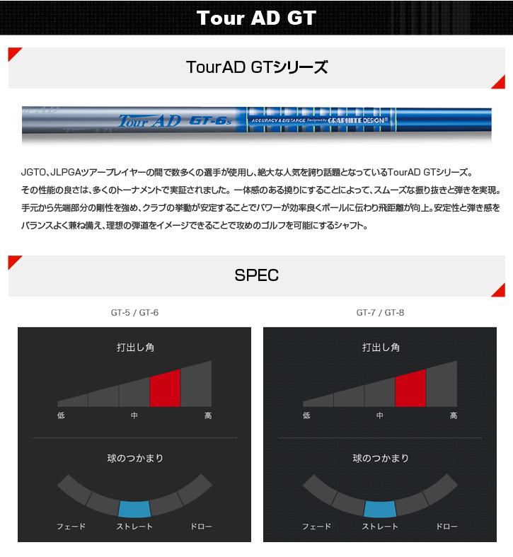 グラファイトデザイン Tour AD GT (ツアーAD GT)