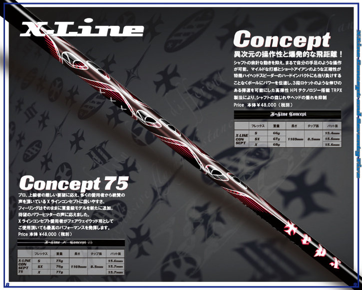TRPX (トリプルエックス) X-LINE